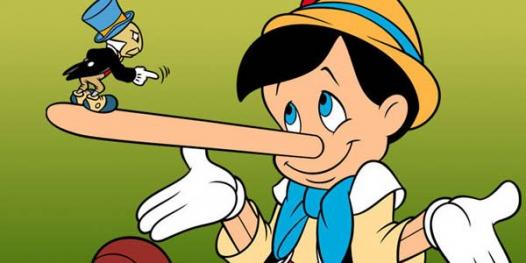 Статстика лжи, как часто люди лгут
