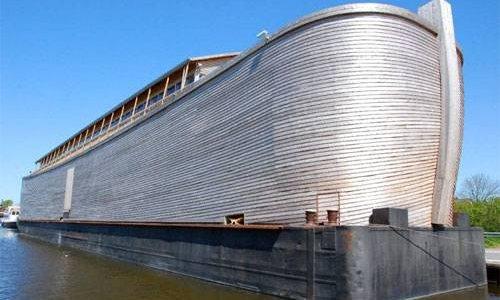Построена копия Ноева ковчега