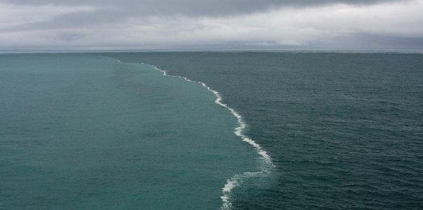 Место встречи двух морей