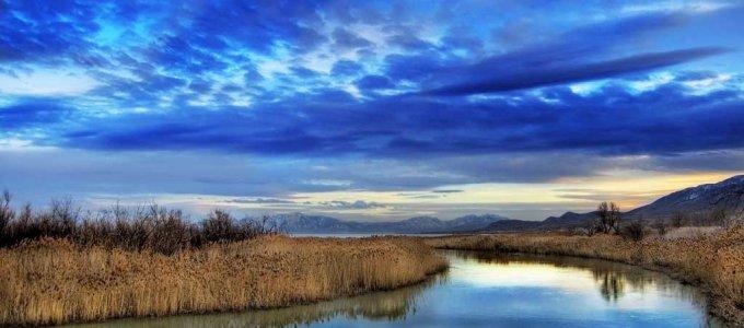 Река Иордан крещение