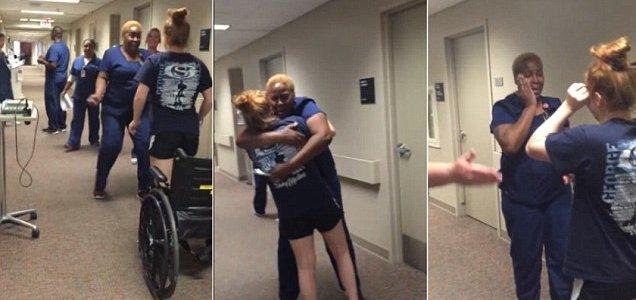 Господь исцелил парализованную девушку