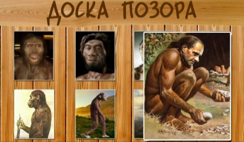 Доска позора эволюции