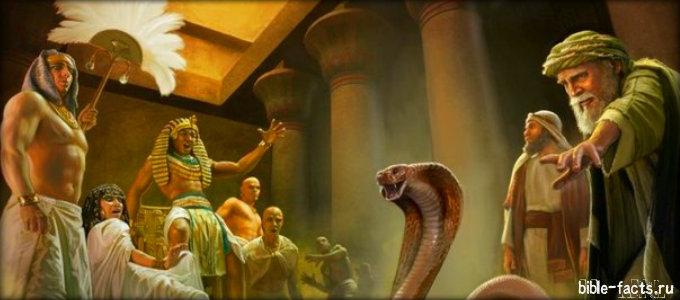 Найдены свидетельства десяти Египетских казней
