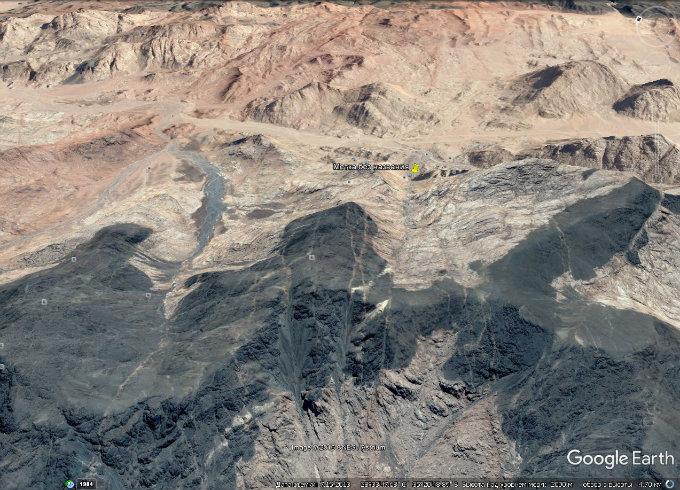 Увлекательное путешествие по горе Синай с помощью Google Earth