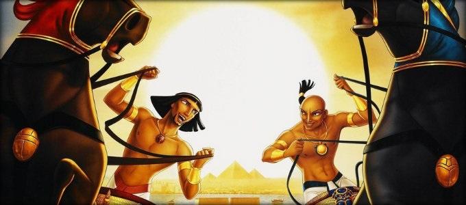 Мультфильм Принц Египта