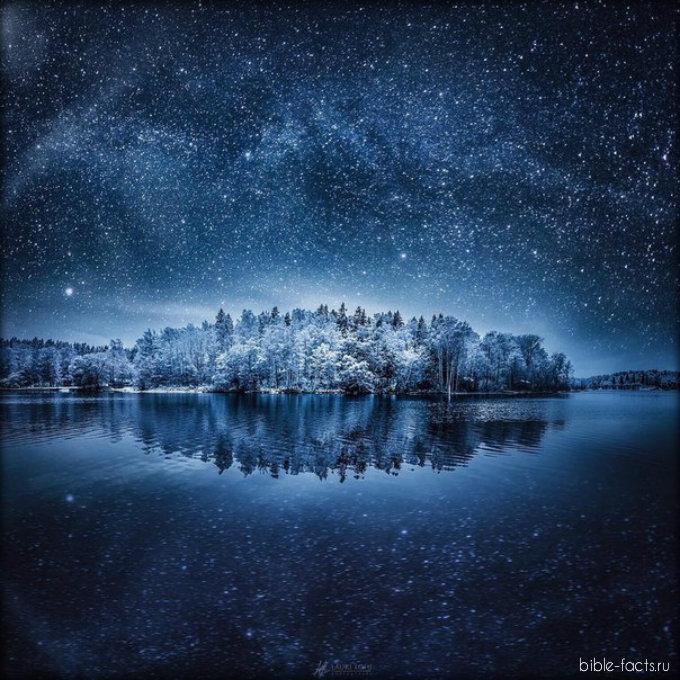 Невероятная ночная красота от Бога
