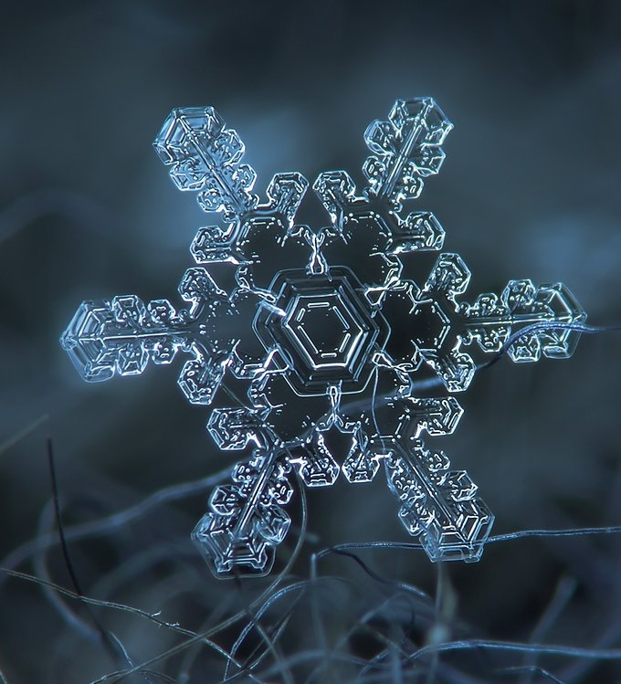 Интересные факты о снежинках