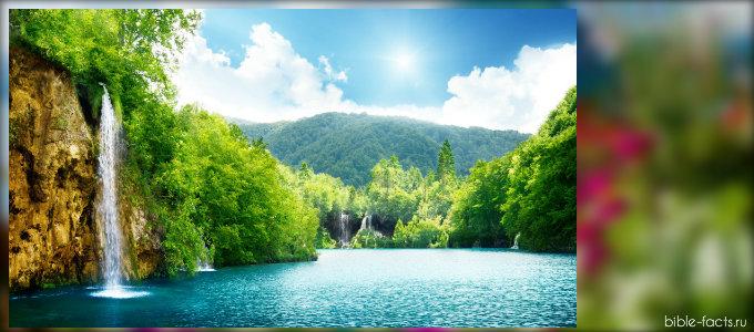 Невероятные следы Бога  в природе