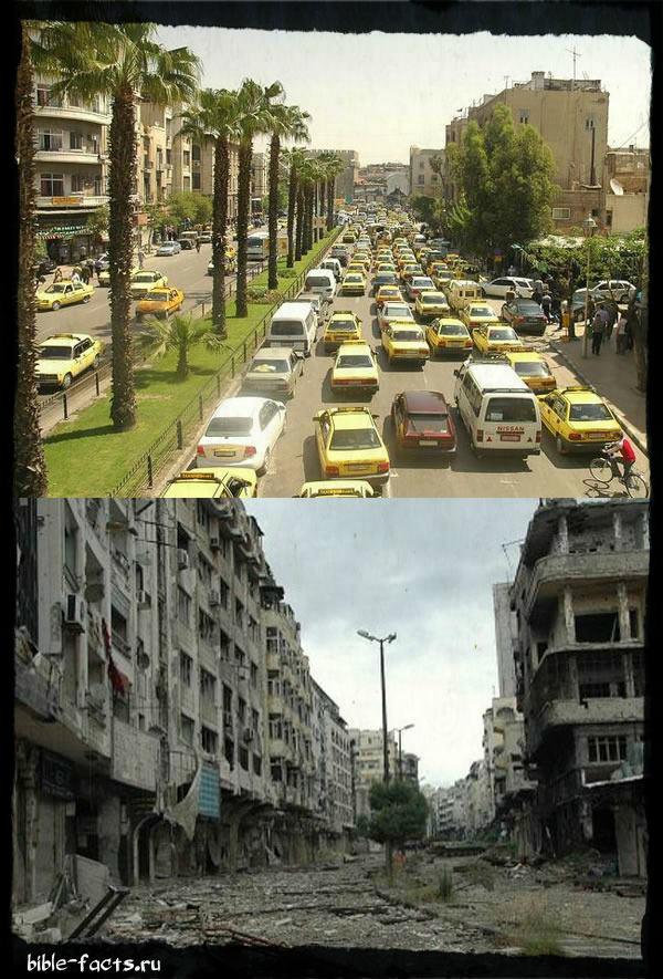 Сегодня сбываются Библейские пророчества о Дамаске