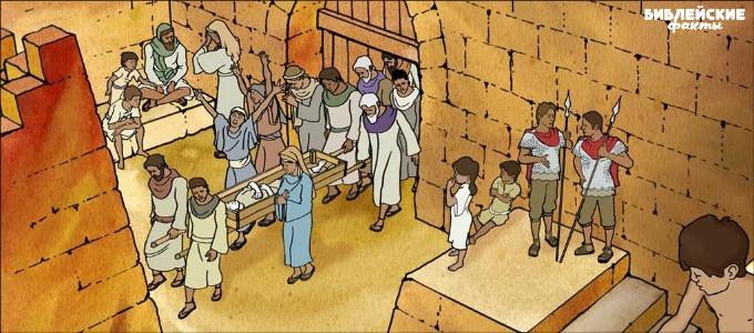 Как хоронили в библейские времена