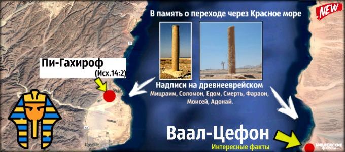 Где евреи перешли море