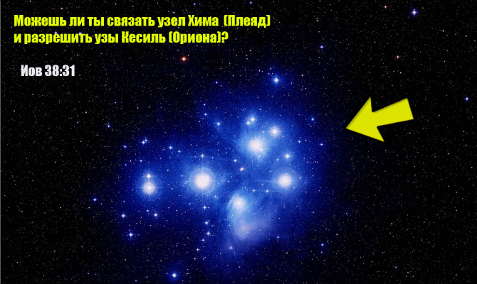 Загадка Иова о звездах