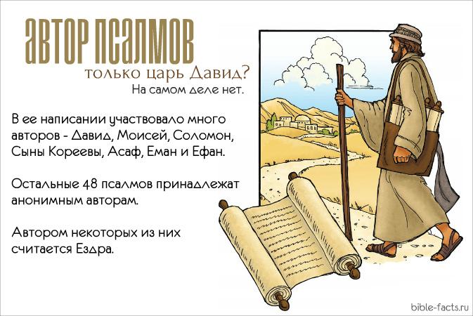 Интересные факты о Псалтири - уникальность книги