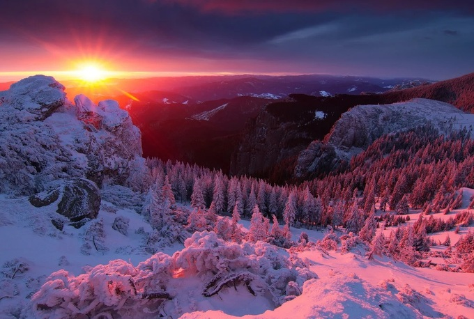 Завораживающая зимняя красота - 2 часть