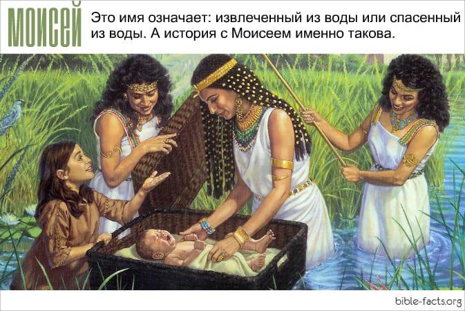 Моисей - интересные факты
